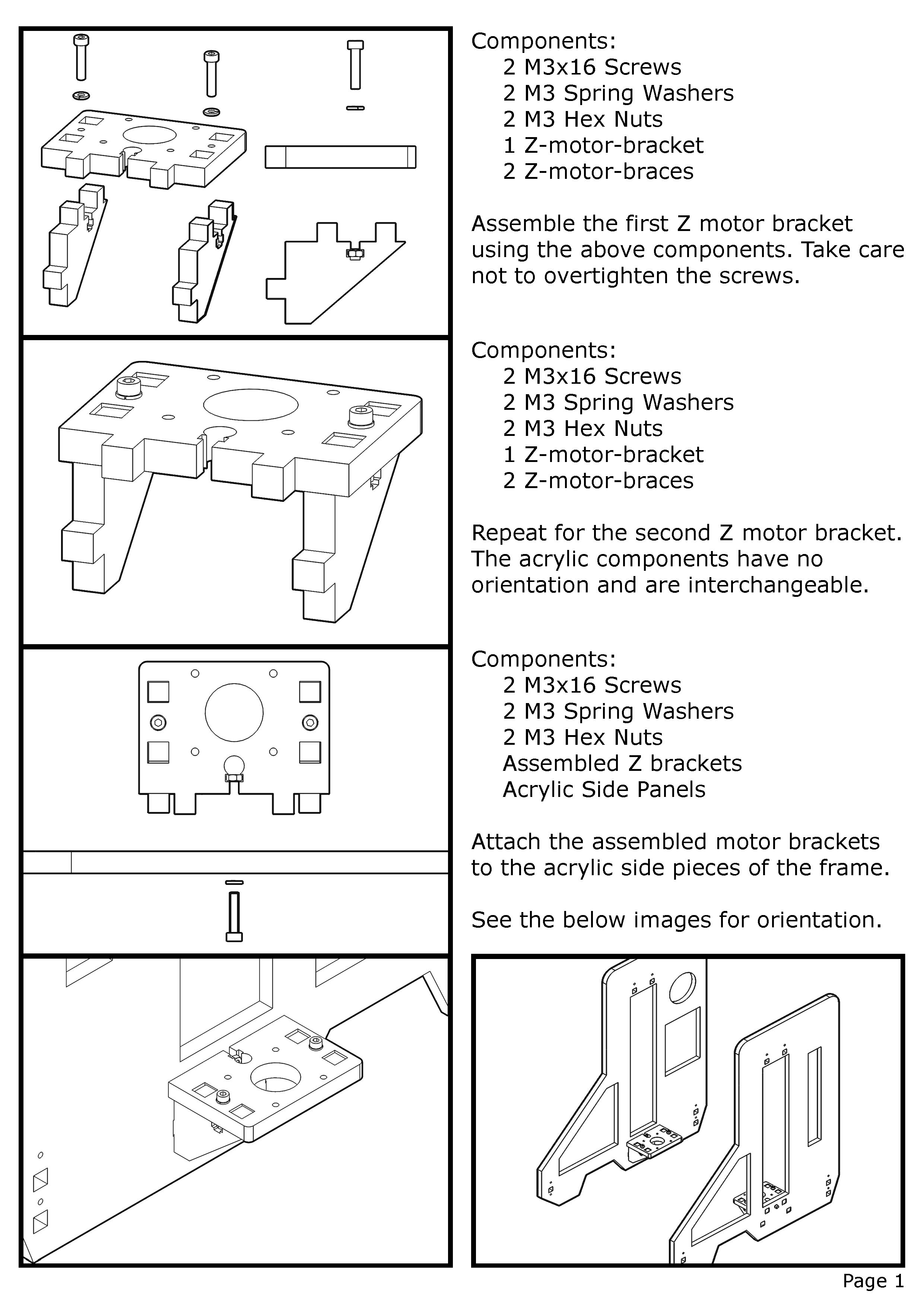 Example assembly instructions. Not quite Ikea-simple yet, but I'm working on it!