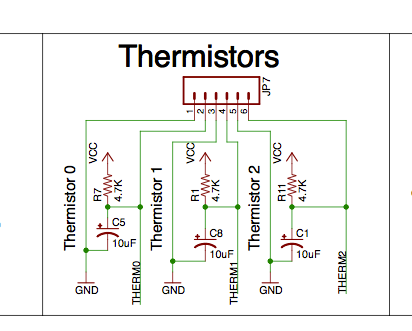 thermistorDiagram Ramps Schematic Diagram on power supply, wiring end stop, board schematic, spindle control, power connector, arduino mega 2560, stepper driver jumpers, circuit diagram, fan extender,