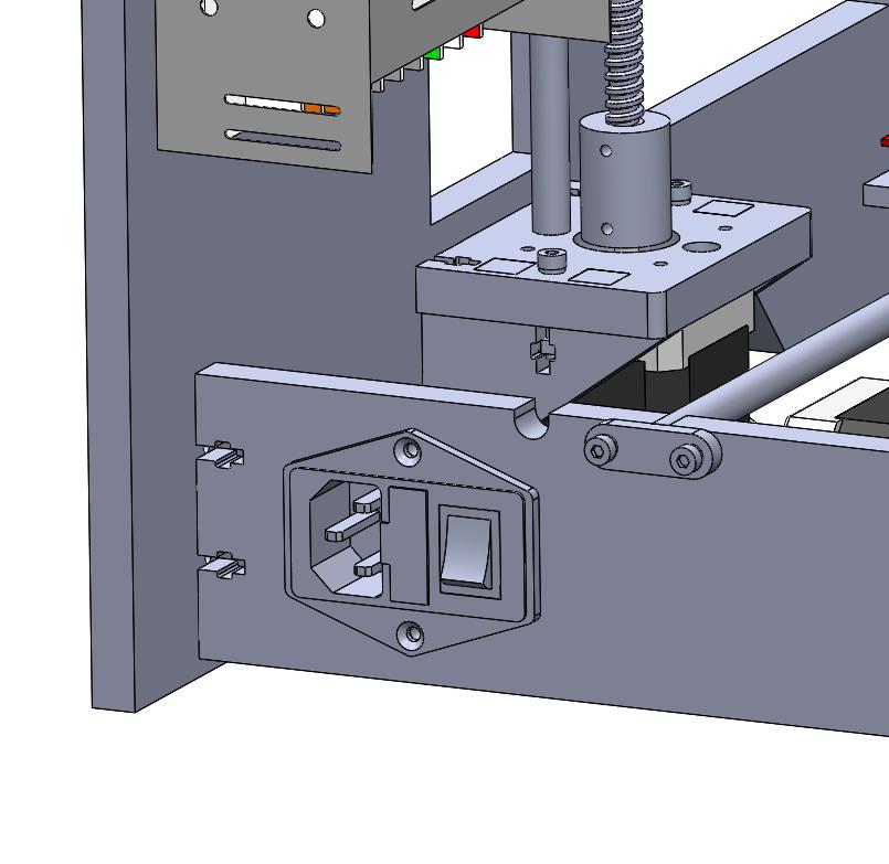IEC Panel Socket
